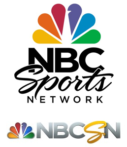 NBC Sports Network and NBCSN Logos